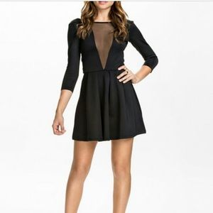 Paper Heart Little Black Dress